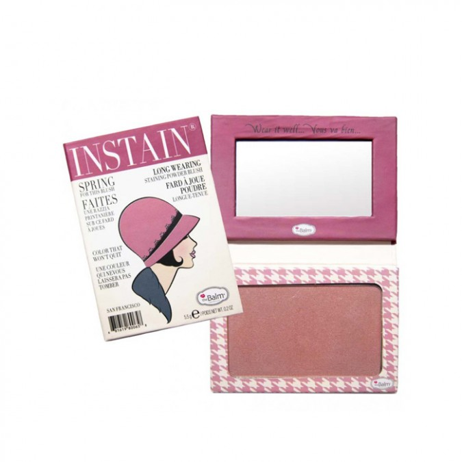 INSTAIN HOUNDSTOOTH BLUSH