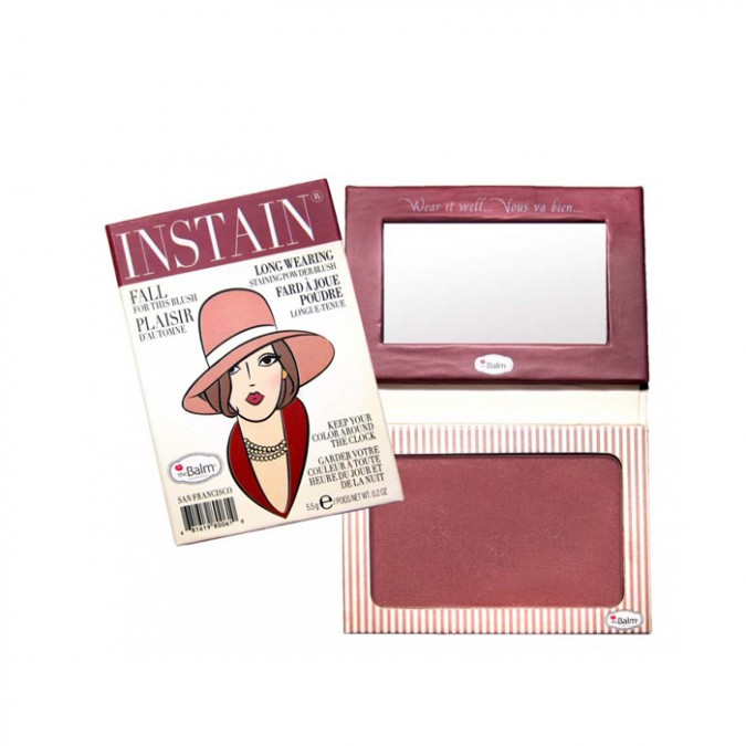 INSTAIN PINSTRIPE BLUSH