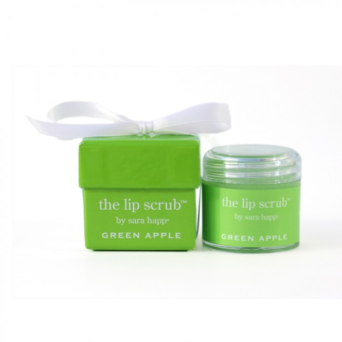 GREEN APPLE LIP SCRUB