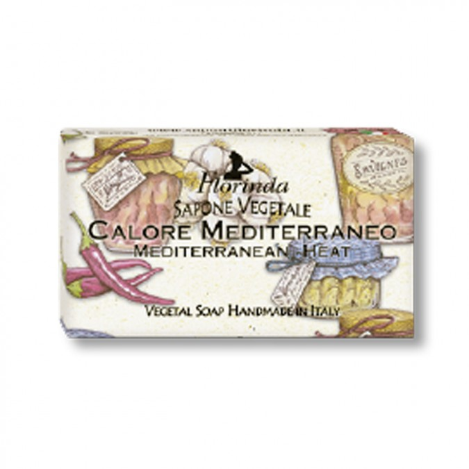 MEDITERRANEAN HEAT VEGETAL SOAP
