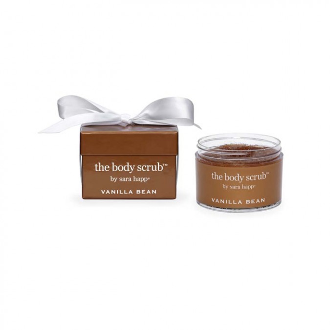 THE BODY SCRUB VANILLA BEAN