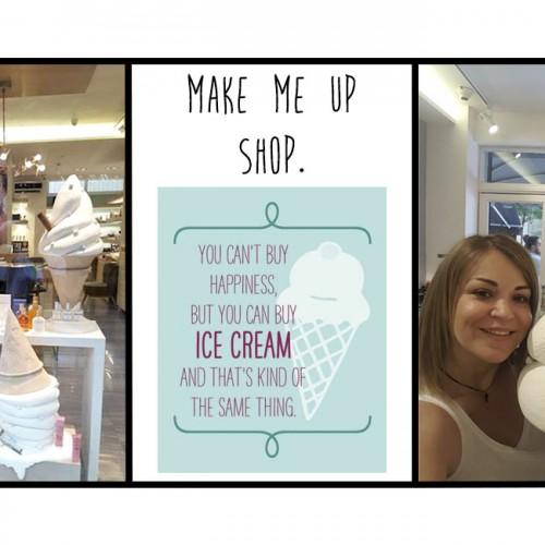 I scream for… ice cream! Με άλλα λόγια: να σας συστήσω στη νέα βιτρίνα της Make Me Up!