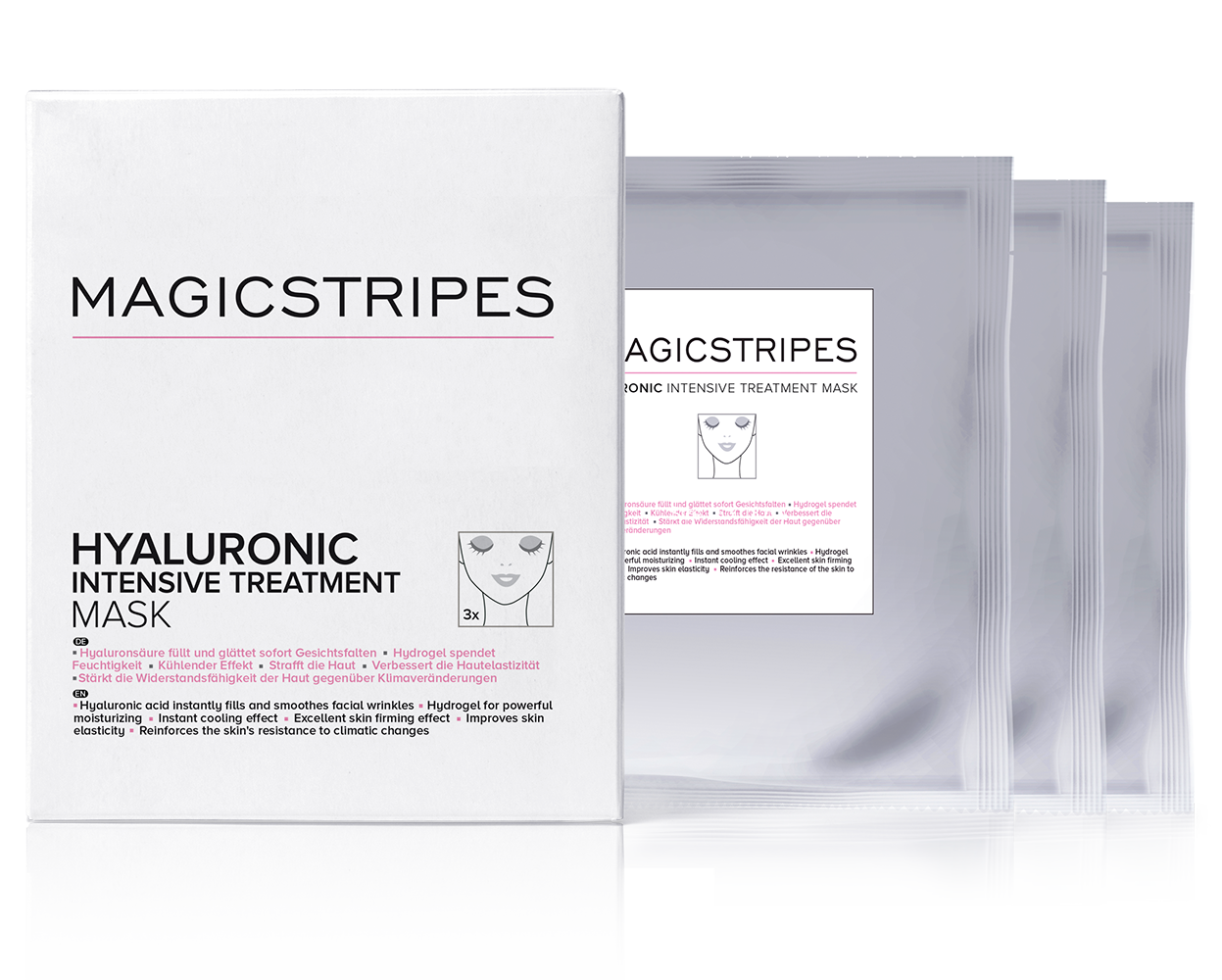 Hyaluronic Intensive Treatment Mask by Magic Stripes