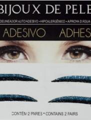 Adhesive Eyeliner classic 1 Black & Blue 2 pair – Αυτοκόλλητα Eyeliner by Bijoux de Pele