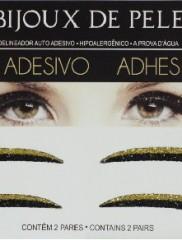 Adhesive Eyeliner classic 1 Black & Gold 2 pair – Αυτοκόλλητα Eyeliner by Bijoux de Pele