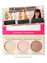 The Manizer Sisters – Παλέτα με πούδρες λάμψης by The Balm